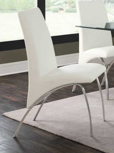 Ophelia Side Chair - White