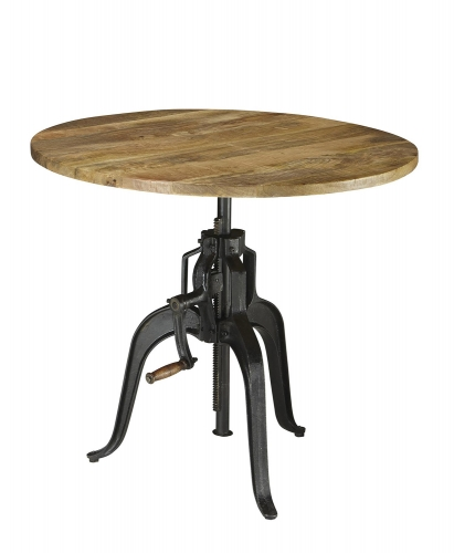 Galway Adjustable Dining Table - Natural