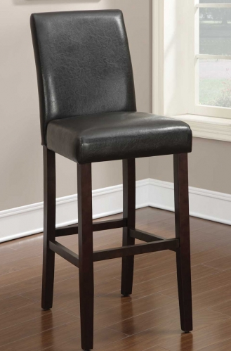Parson Bar Height Stool - Dark Brown