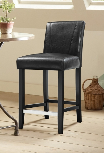 Lahner Counter Height Stool - Black