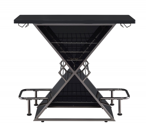 130077 Bar Unit - Black Acrylic