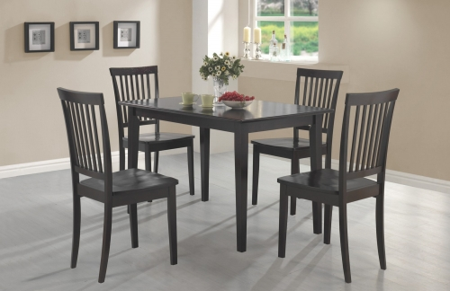 150152 5-Piece Dining Set - Cappuccino