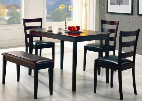 Taraval 5 Piece Rectangular Dining Set