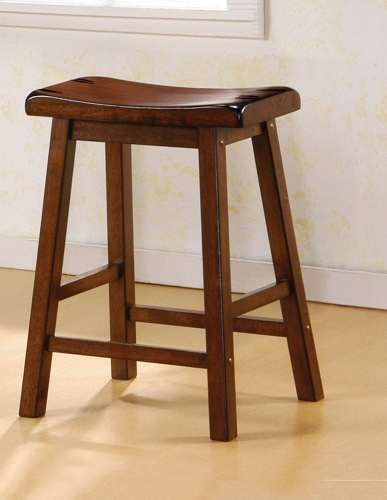 180069 Counter Stool - Dark Walnut