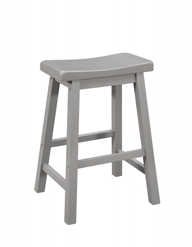 180178 Counter Height Stool - Grey