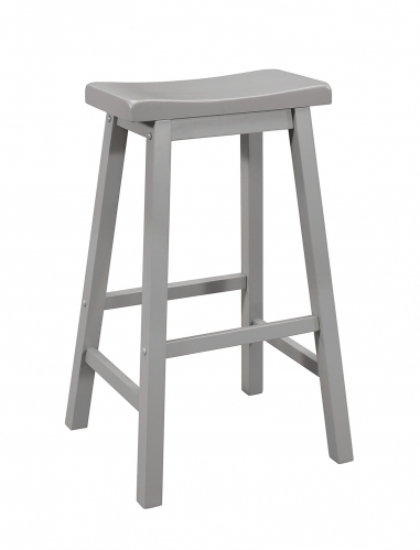 180179 Bar Stool - Grey