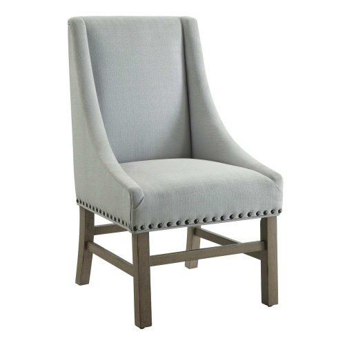 180252 Side Chair - Light Grey