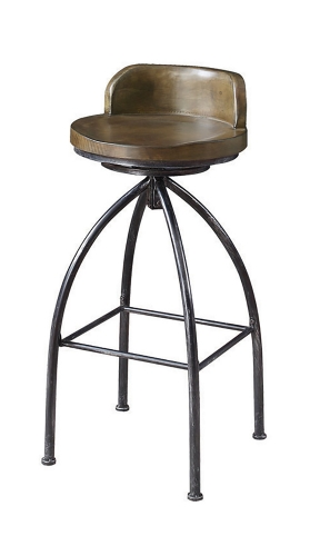 182048 Bar Stool - Gunmetal