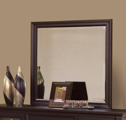 Coaster Sandy Beach Mirror - Cappuccino