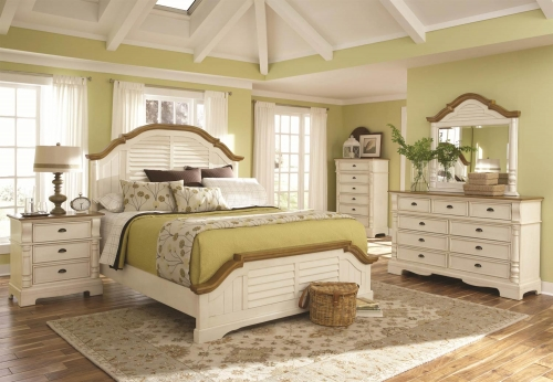 Oleta Bedroom Collection - Buttermilk/Brown