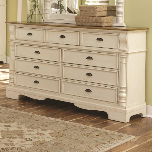 Oleta Dresser - Buttermilk/Brown