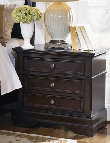 Cambridge Night Stand - Dark Cherry
