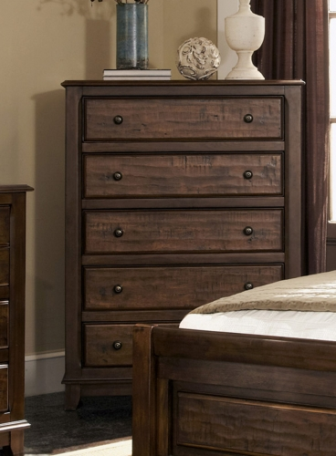 Laughton Chest - Cocoa Brown