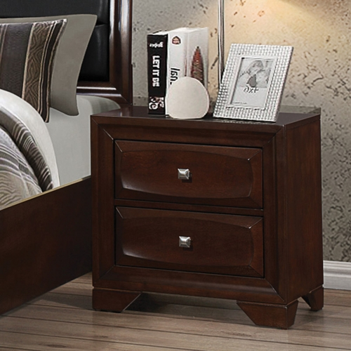 Jaxson Night Stand - Cappuccino