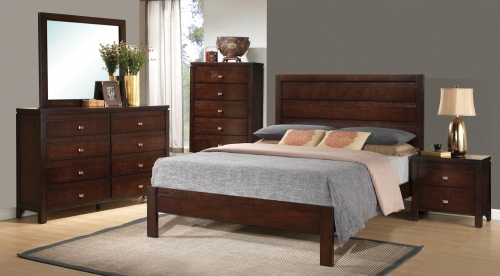 Cameron Bedroom Set - Cappuccino