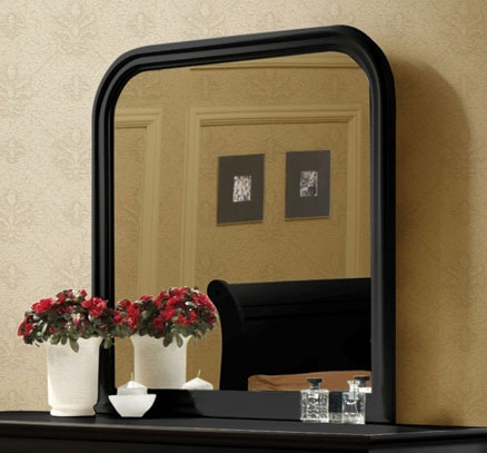 Coaster Louis Philippe Mirror - Black