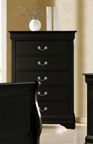 Coaster Louis Philippe Chest - Black