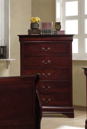 Louis Philippe Chest - Cherry