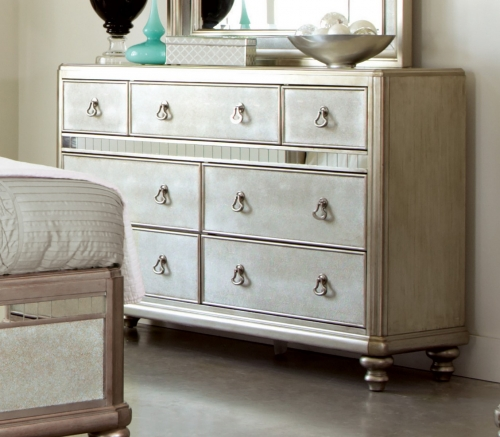 Bling Game Dresser - Metallic Platinum