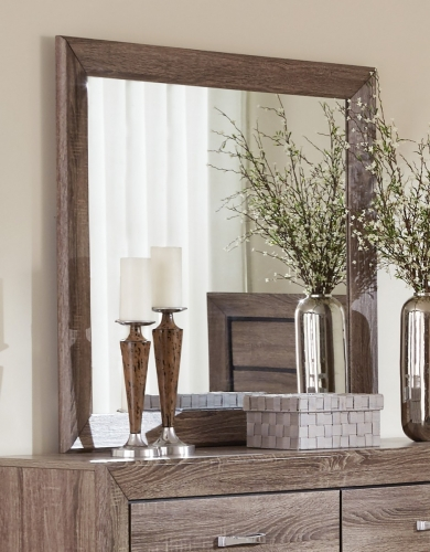 Coaster Kauffman Mirror - Washed Taupe