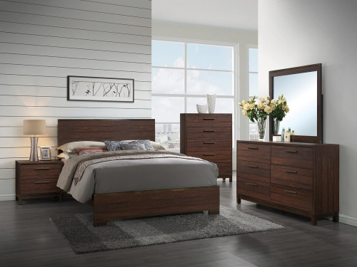 Edmonton Bedroom Set - Tobacco