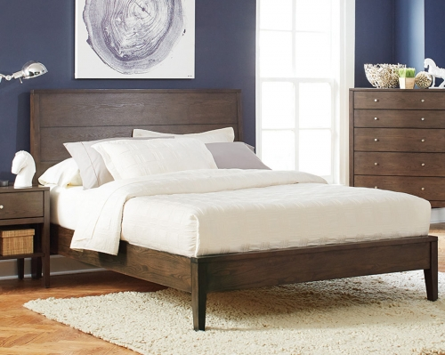 Lompoc Bed - Ash Brown