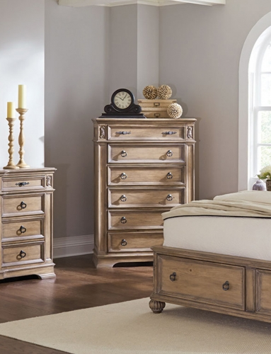 Ilana Chest - Antique Linen