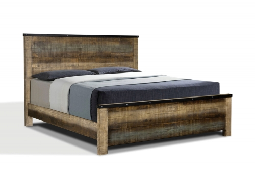 Sembene Panel Bed - Multi