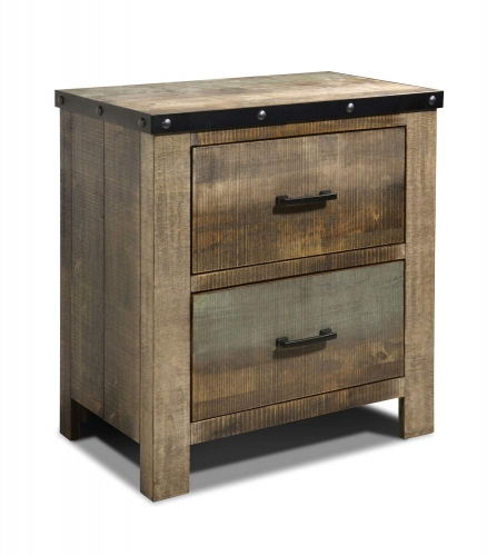 Sembene Nightstand - Multi