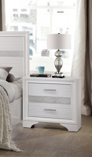 Miranda Nightstand - White