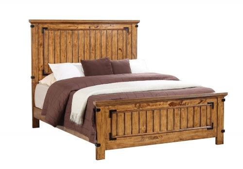Brenner Bed - Rustic Honey