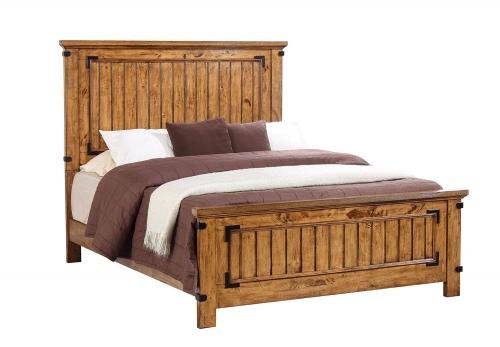 Brenner Bed - Rustic Honey