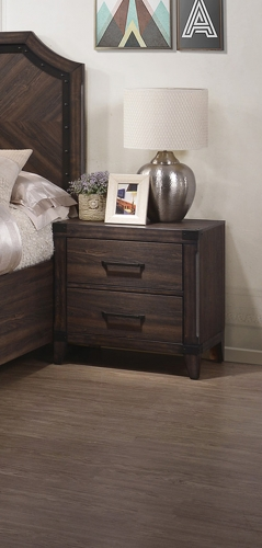 Richmond Nightstand - Dark Grey Oak