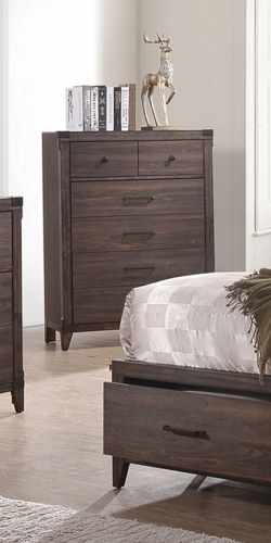 Richmond Chest - Dark Grey Oak