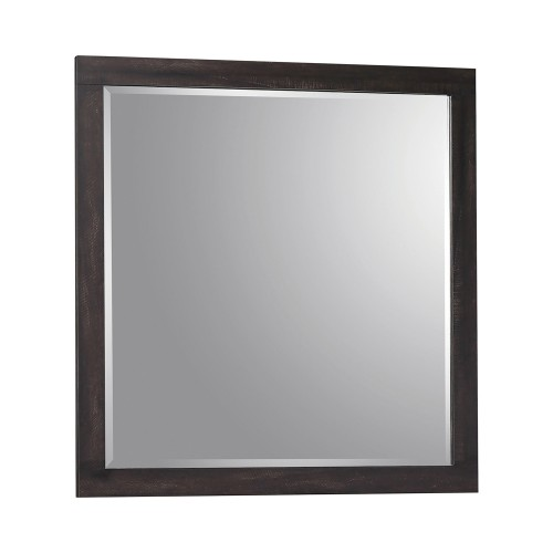 Weston Mirror - Weathered Oak/Rustic Coffee