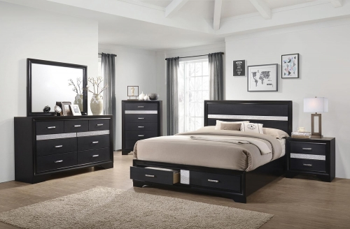 Miranda Bedroom Set - Black