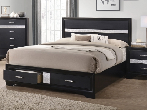 Miranda Bed - Black