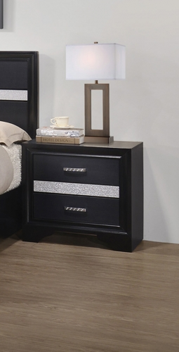Miranda Nightstand - Black