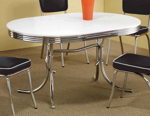 Mix & Match Oval Retro Table