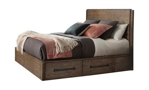 Meester Storage Bed - Rustic Barn