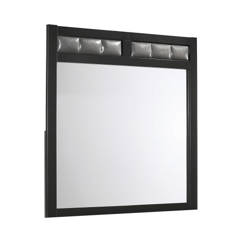 Carlton Mirror - Black