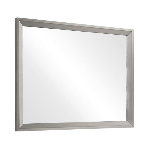 Ramon Mirror - Metallic Sterling