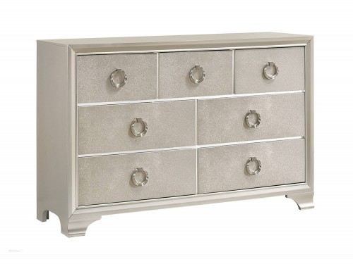 Salford Dresser - Metallic Sterling