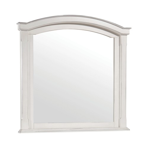 Carolina Mirror - Antique White