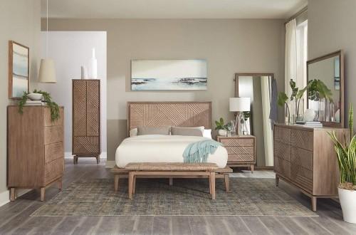 Vanowen Bedroom Set - Sandstone