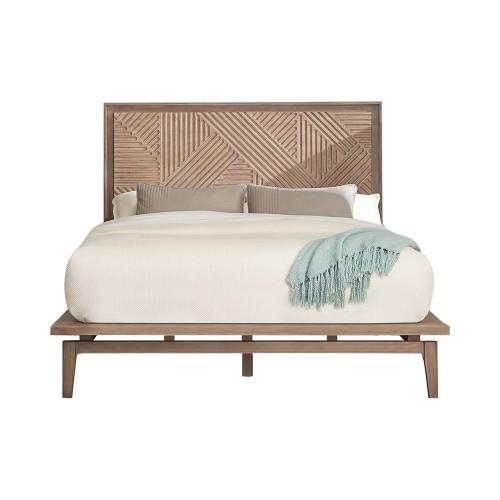 Vanowen Bed - Sandstone