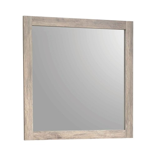 Adelaide Mirror - Rustic Oak