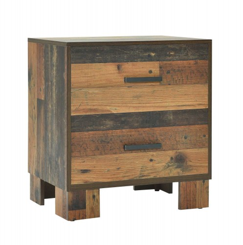 Sidney Nightstand - Rustic Pine