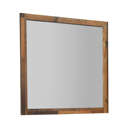 Sidney Mirror - Rustic Pine