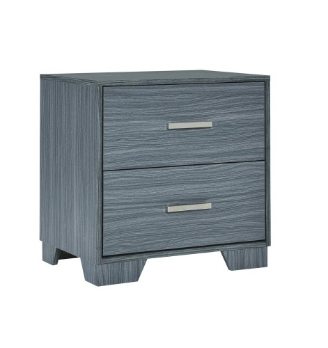Julian Nightstand - Dark Grey Oak